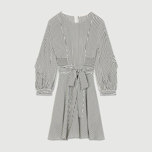 Maje Roxby Striped Dress.jpg