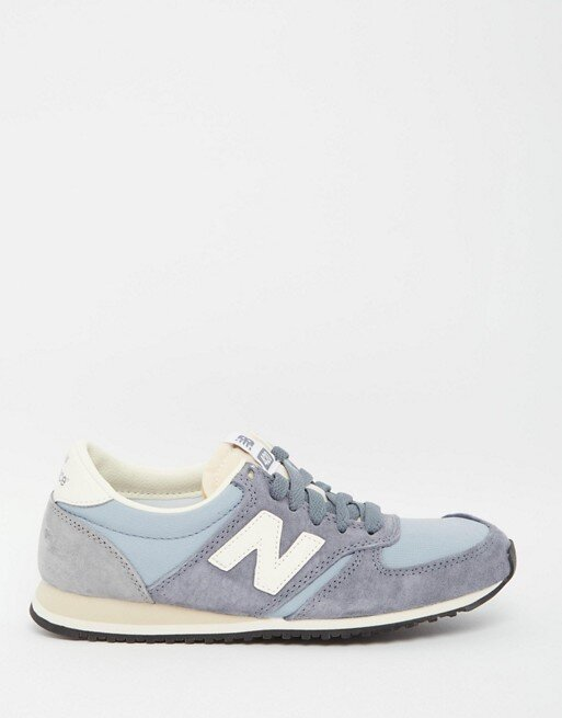 New Balance 420 Vintage Trainers in Baby Blue — UFO No More