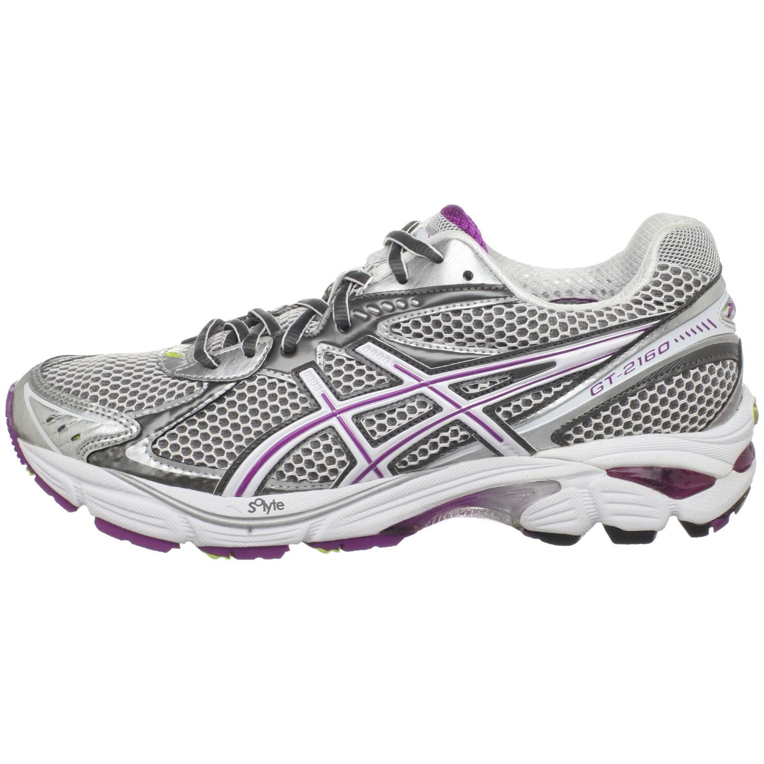 Ir a caminar hada Contrapartida  ASICS GT-2160 Running Shoes in Carbon/White/Plum — UFO No More