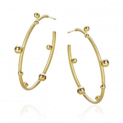 Dulong Fine Jewelry Delphis Earrings in Gold