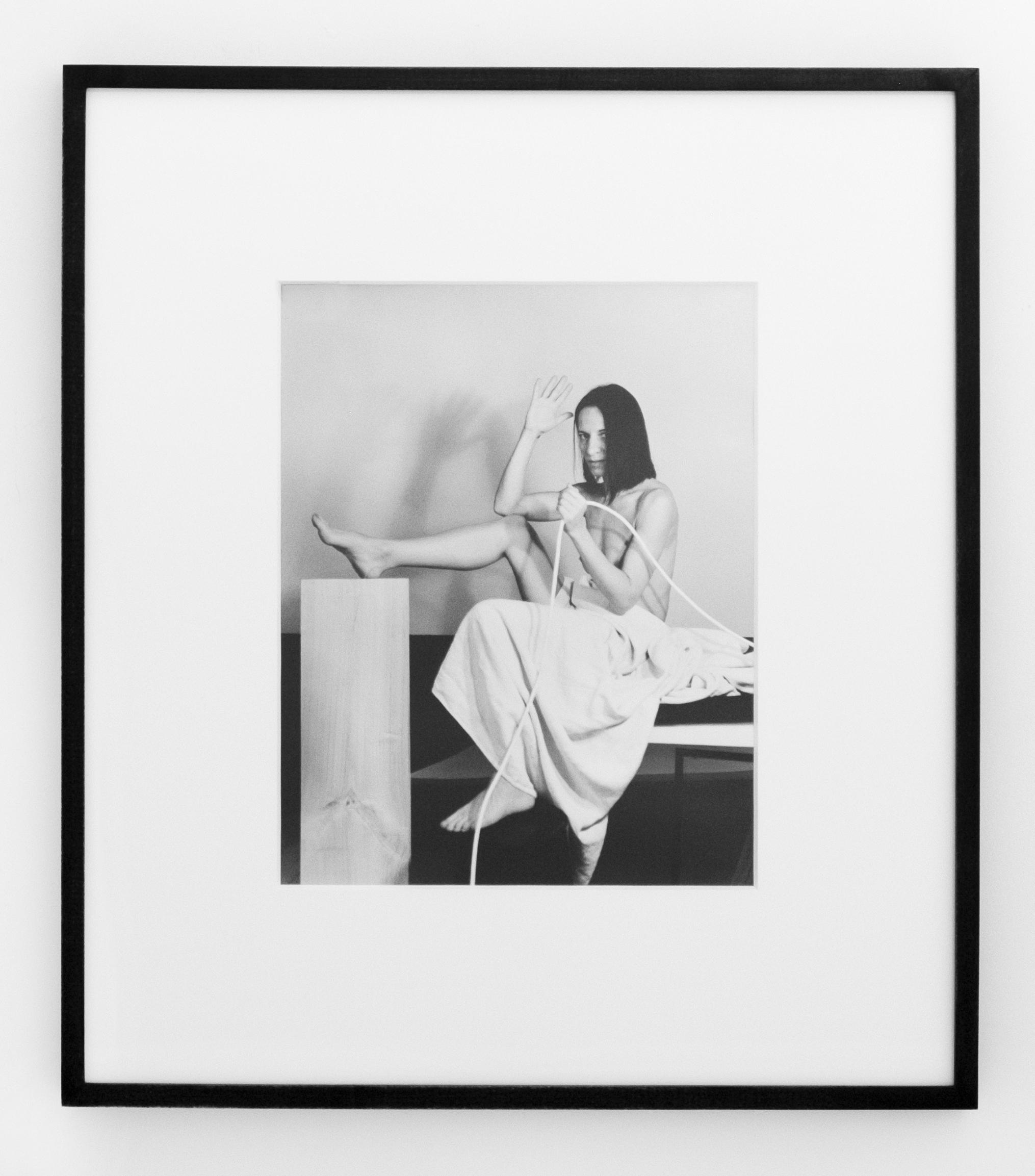 Ana Gaze Study 3 , 2019, gelatin silver print, 20 x 24 inches framed