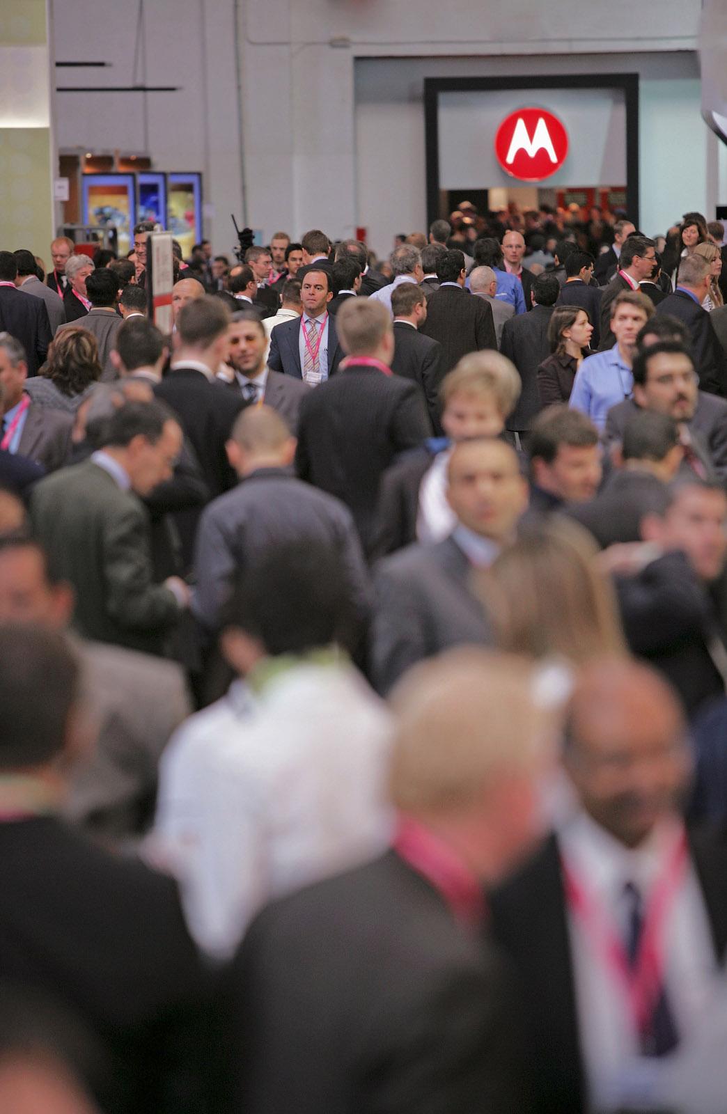 y10151 -  Spain, Barcelona, Motorola at 3GSM World Congress.- Spanien, Barcelona, Motorola, 3GSM Welt Kongress. (Groesste Mobilfunkmesse der Welt) 12.02.2007.- 48 MB. DIGITAL PHOTO.Copyright: Oliver Brenneisen