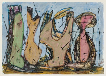 Marcus Lupertz,  Untitled,  1990