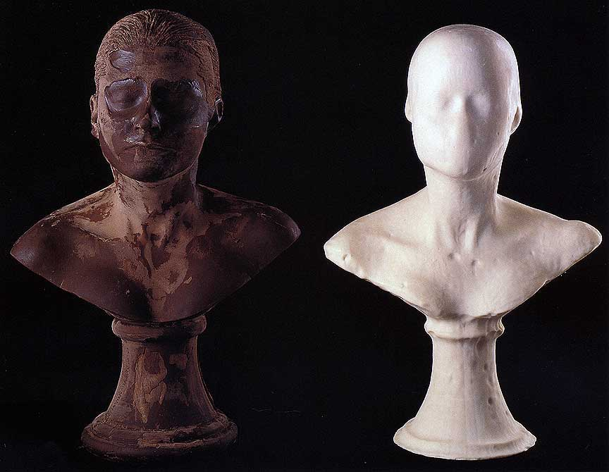 Janine Antoni,  Lick and Lather  (detail)