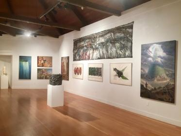 Installation view of Alt-Left at Berkeley Art Center