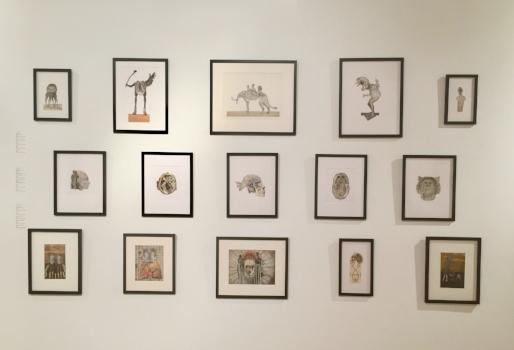 John Hundt,installation view at BAC