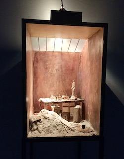 Charles Matton,  Giacometti's Studio  (1987)