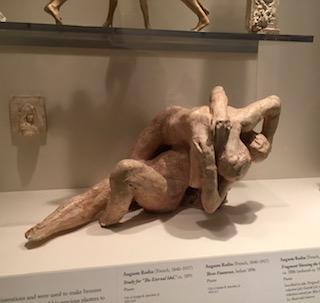 Rodin maquette at Legion of Honor Museum