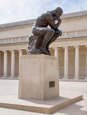 Rodin  Thinker  at Legion of Honor Museum