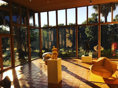 Sculpture court, McNay Museum