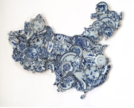 Bouke De Vries,  Map of China of China  (2017)