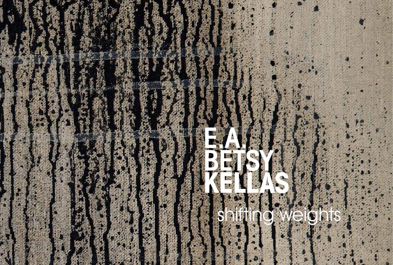 Essay for E.A. Kellas, Sebastopol Center for the Arts 2014