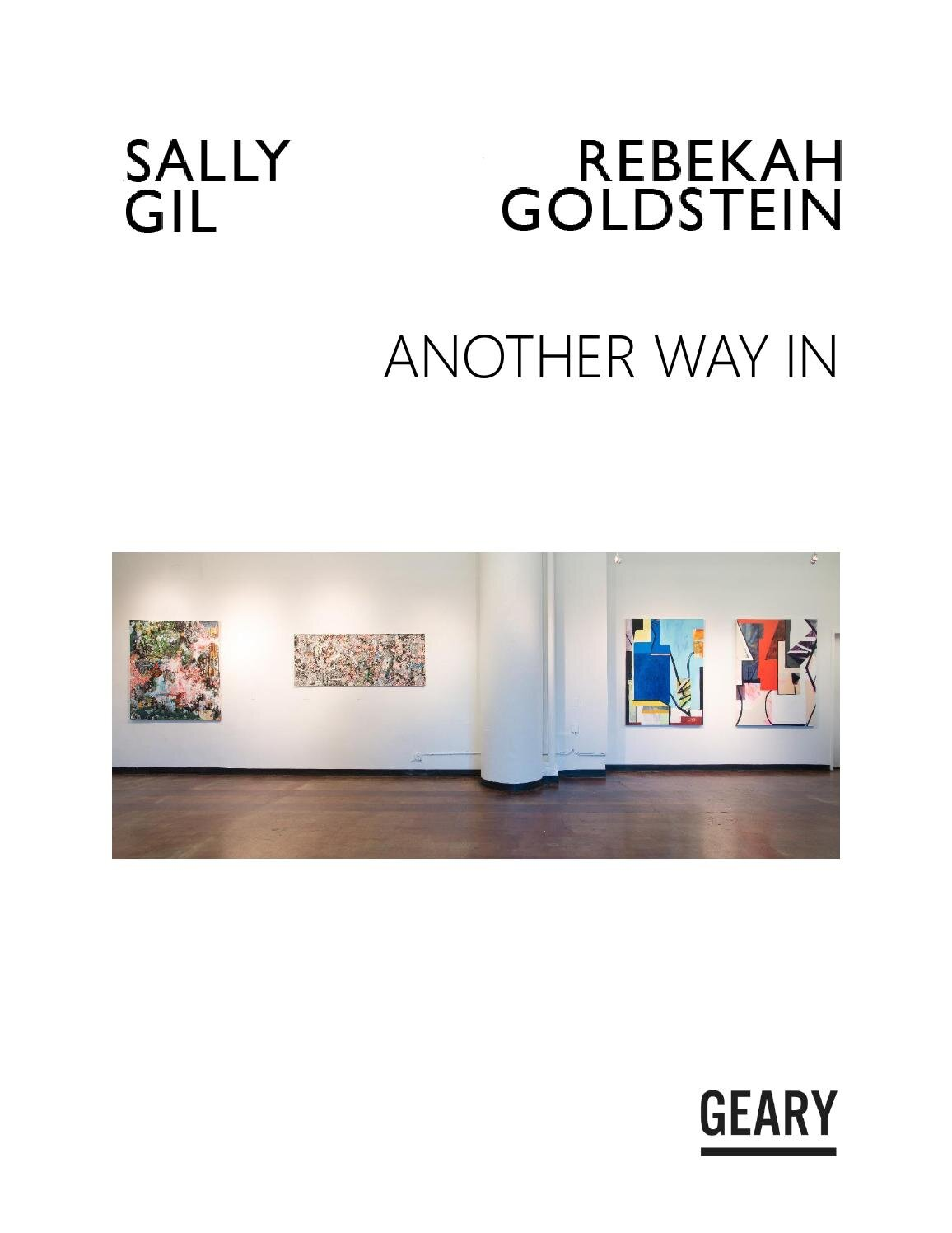 Essay for Rebekah Goldstein at Jack Geary, NYC 2015
