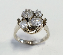 The new ring Nick made for Stephanie