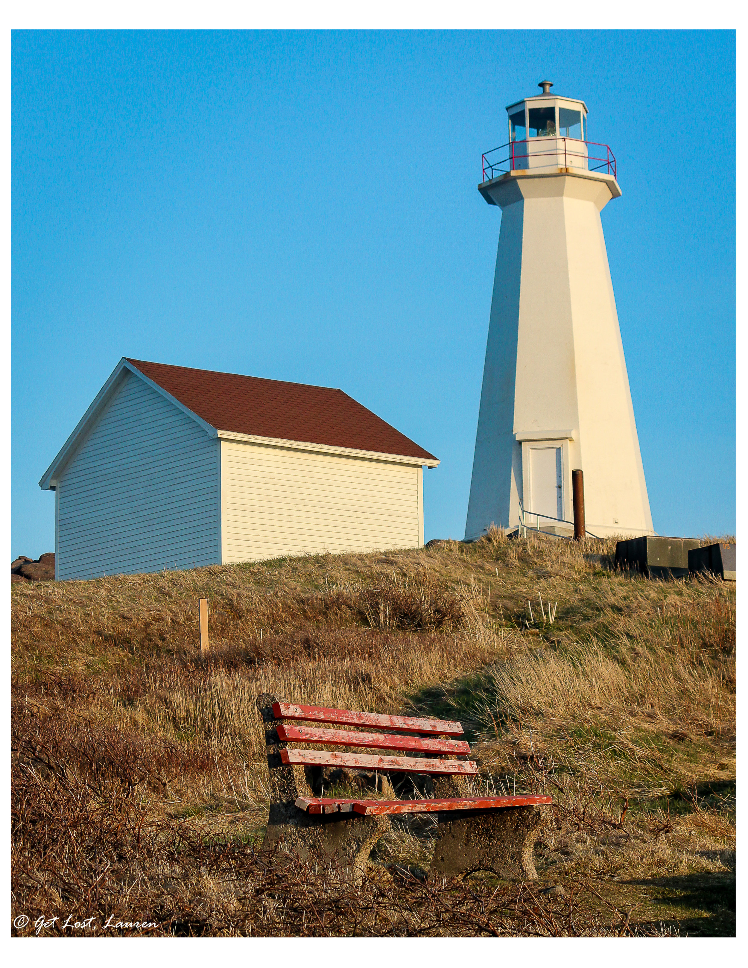 The lighthouse at Cape Spear, North America's most easterly point.
