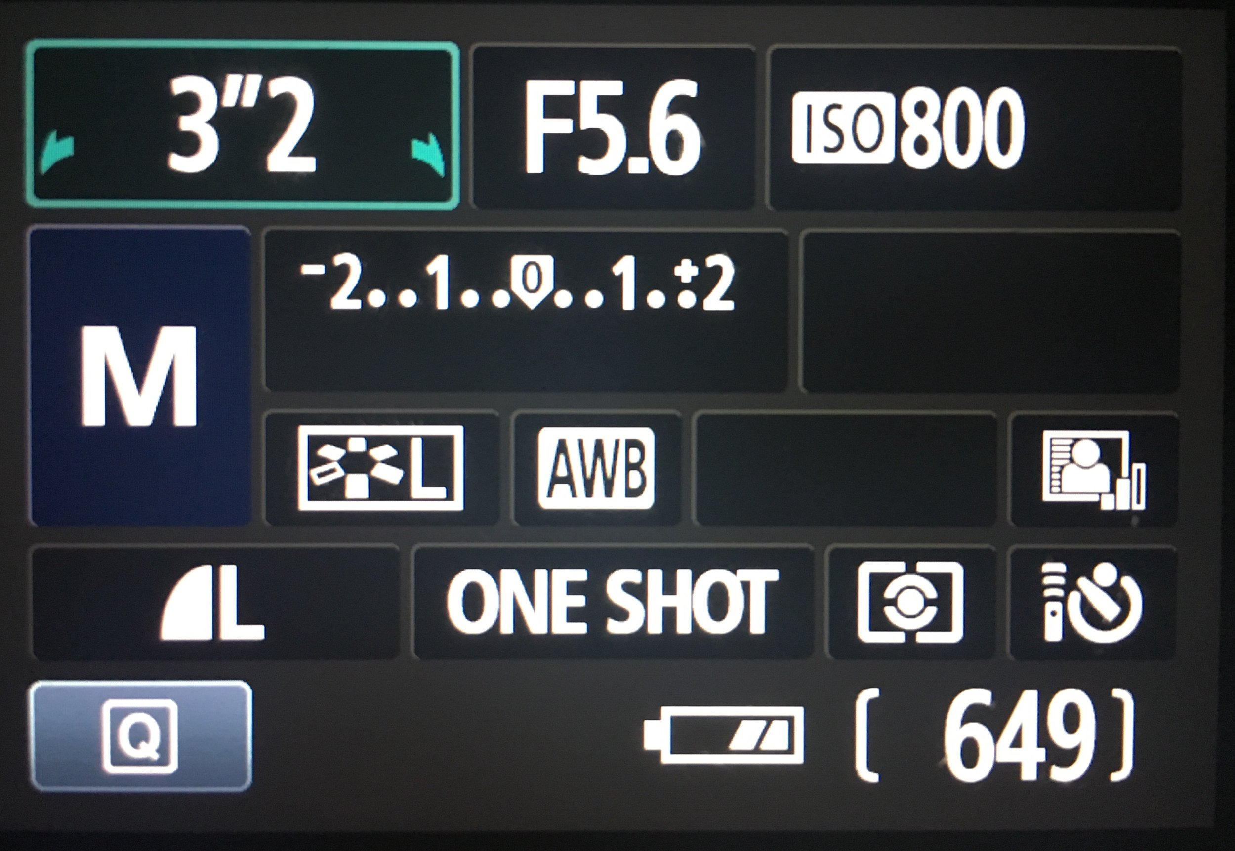 Camera settings on a Canon set to Manual mode. Shutter at 3.2 seconds, F-stop at f5.6 (lowest it would go), ISO 800 with remote control on. No remote? Set it to timer to decrease chances of blur in your picture by clicking the button.