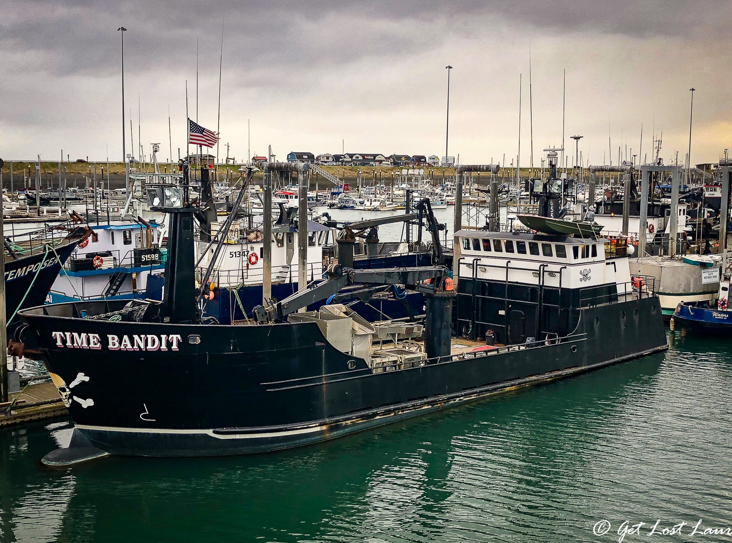 "Time Bandit  from Discovery Channel's ""The Deadliest Catch"" - It can be yours for $2.9 mil!"