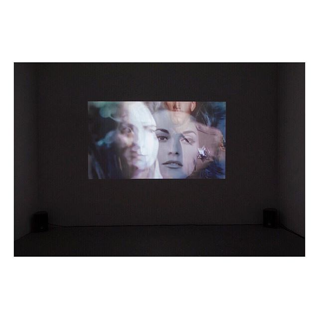 Installation shot from exhibition Following the white rabbit. View of video work Magical Mystery Tour, 2016. . . #susannesvantesson #visualart #gallery #contemporaryart #videoart #video #artvideo #videoprojection #art #galleri54 #artist #dailyart #susanatkins #sharontate