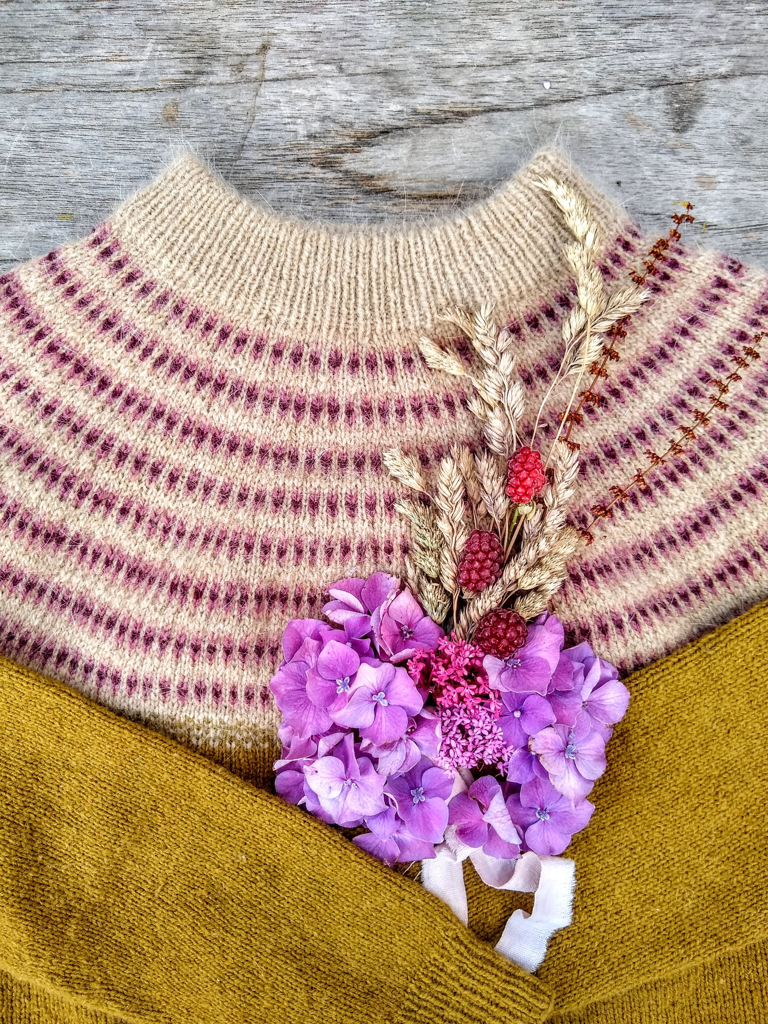 Can you hear this sweater saying: Knit me!