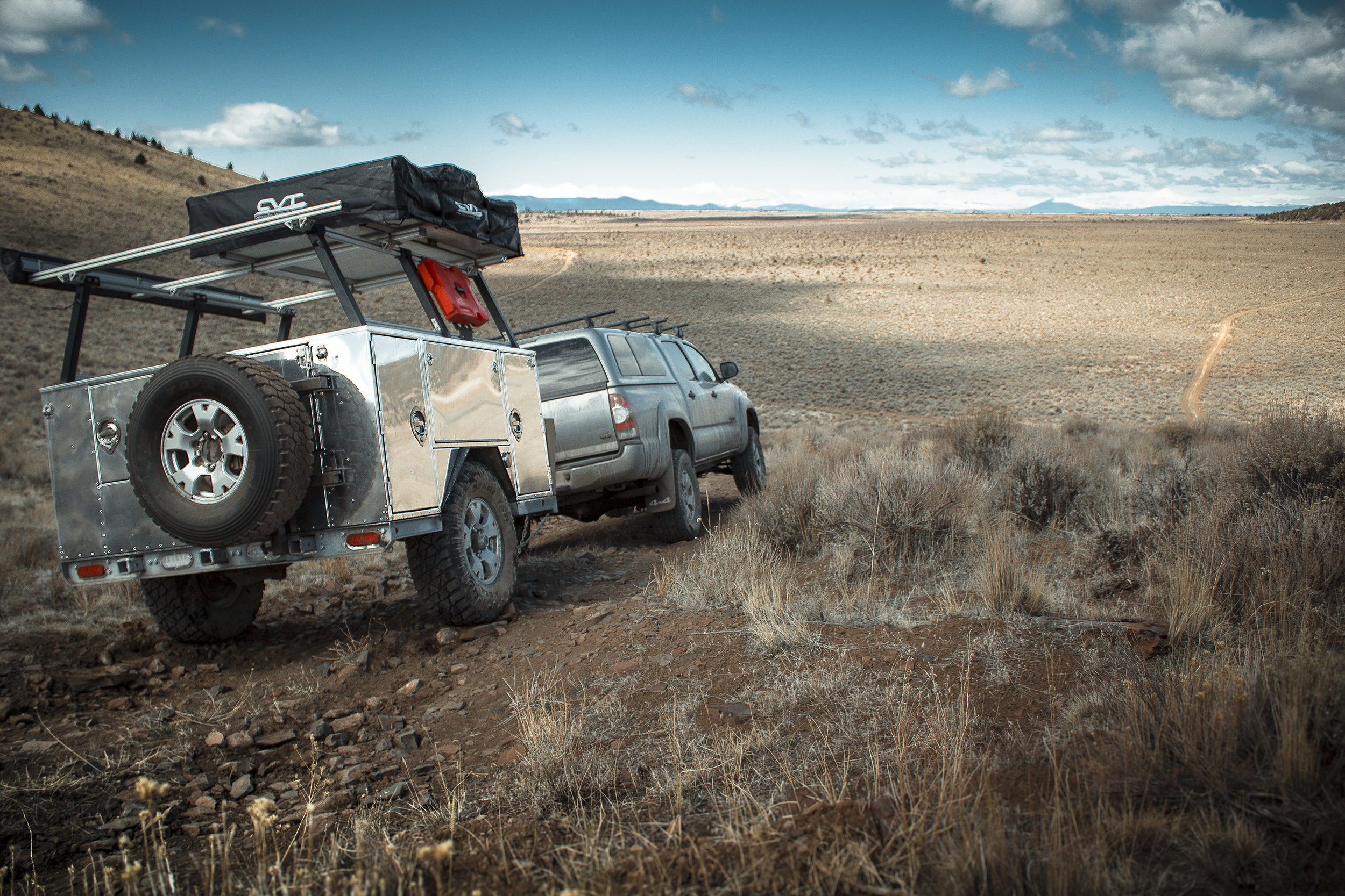 THE MOST VERSATILE ADVENTURE TRAILER IN THE WORLD. -