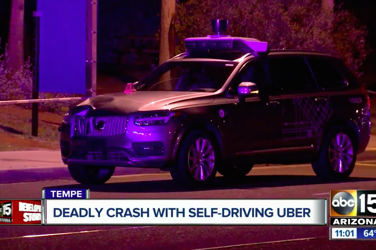 Uber self-driving car crash