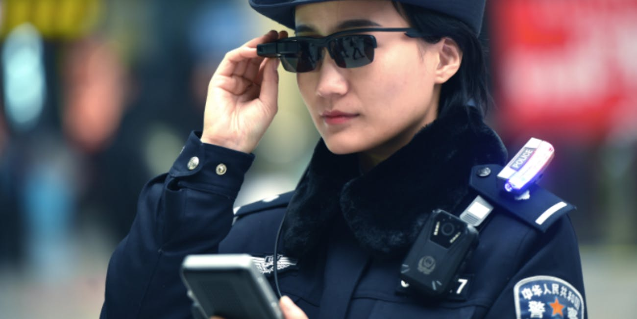 China facial recognition surveillance