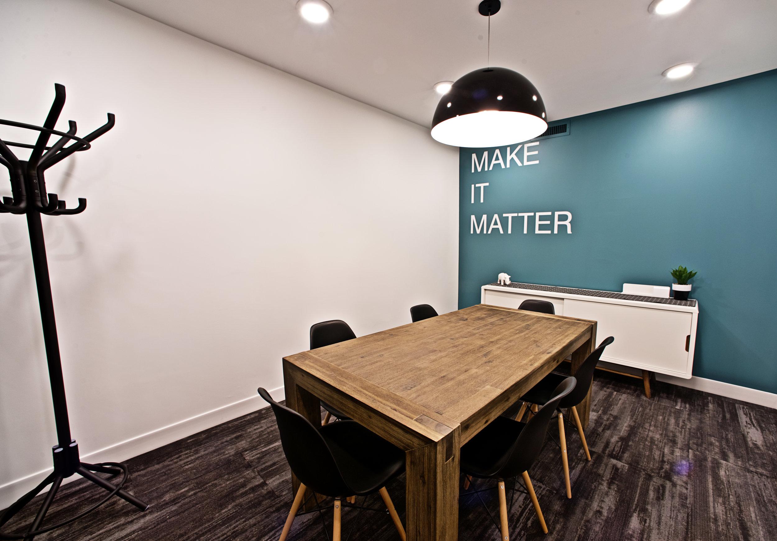 Shared Office Boardroom