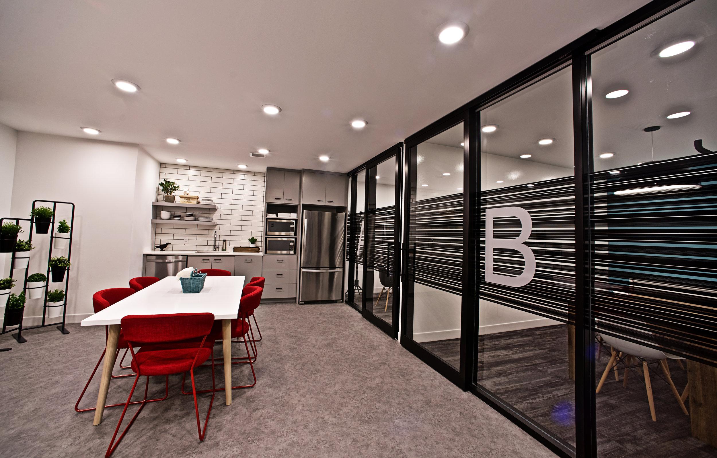 Business Center Kitchen
