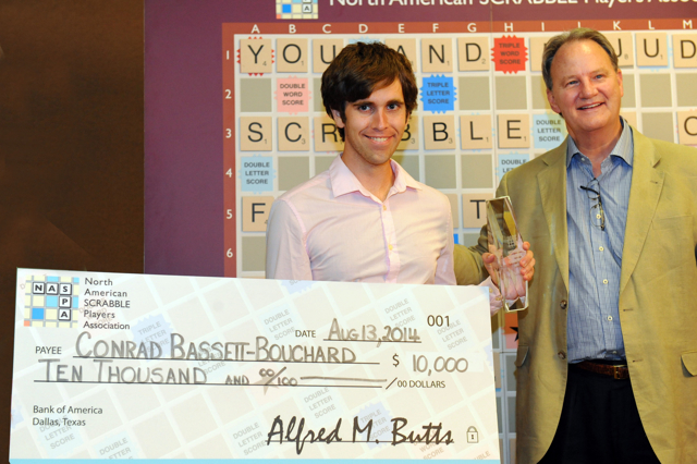"""The """"big check"""", August 2014"""