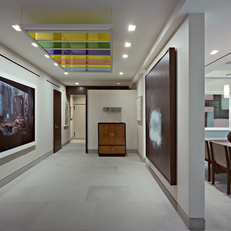 East 75th Street and Madison Avenue, New York –    Architecture by BSpace     Published in Architectural Houses - Monsa Press