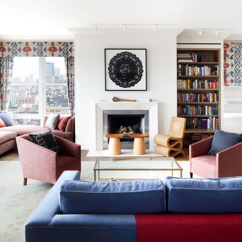 Greenwich Village Penthouse -    Design by Sheila Bridges     Published in Rooftop Gardens, Rizzoli Press