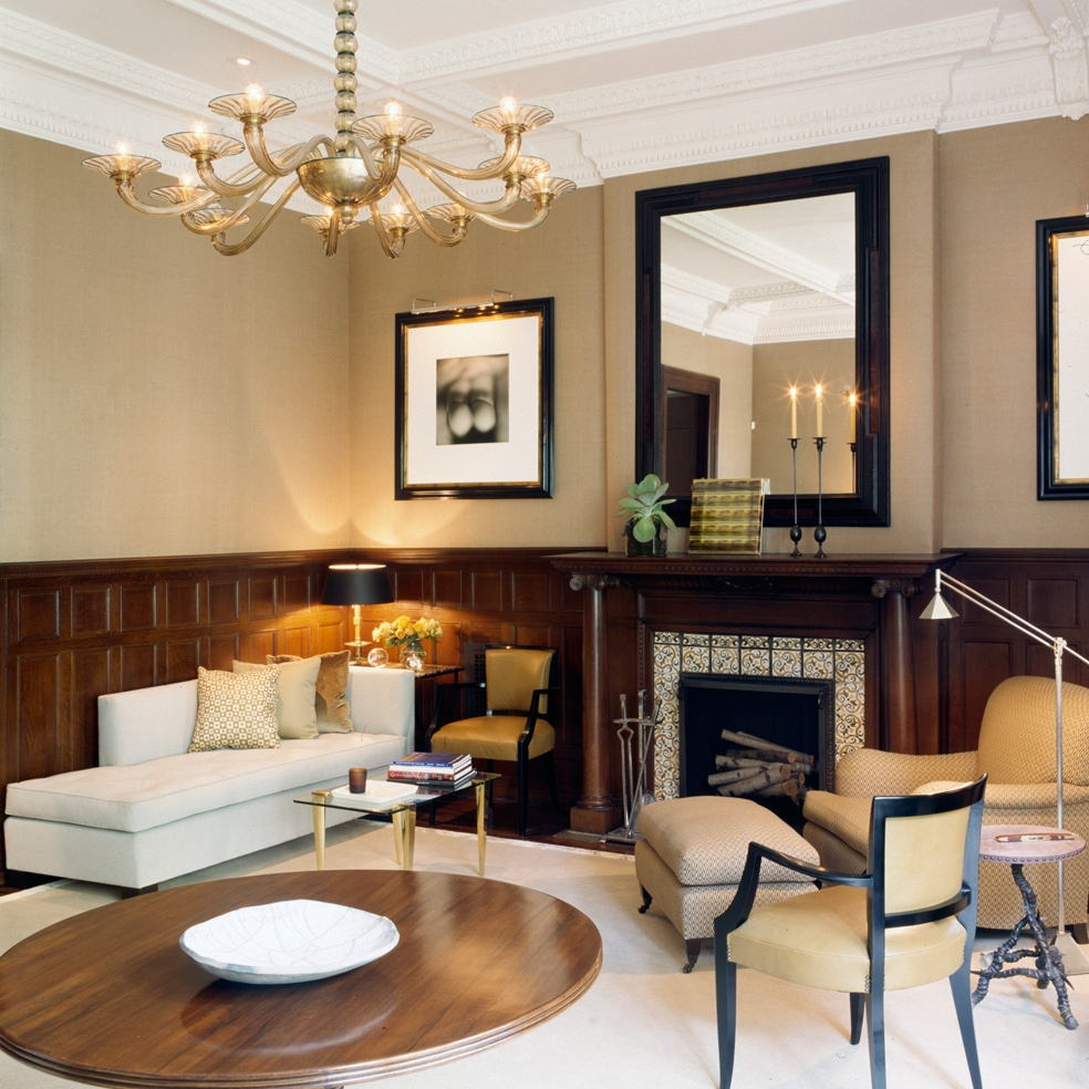 West 88th Street, New York - Design by Alan Tanksley    Published in Metropolitan Home
