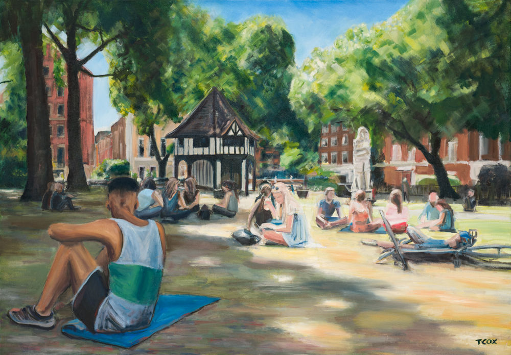 Soho Square Heatwave