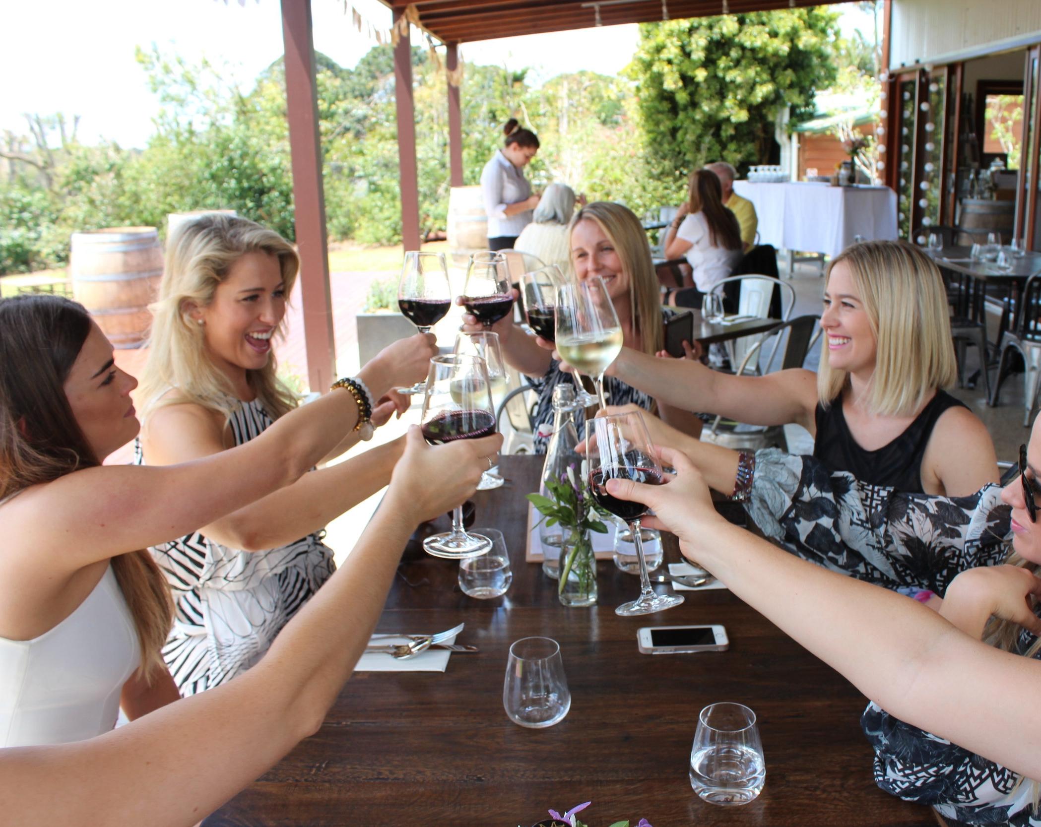 Wine tasting Tash Maree Travel