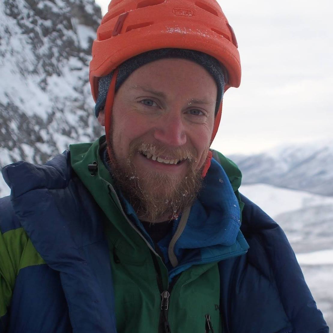 CLUB ADVISOR - Nick Janssen    Nick is an advisor of the Alaska Alpine Club and has been involved with the club since 2012. He has climbed most of the peaks in the Delta Range and enjoys nordic skiing and ice climbing during the winter; packrafting and distance trail running during the summer.