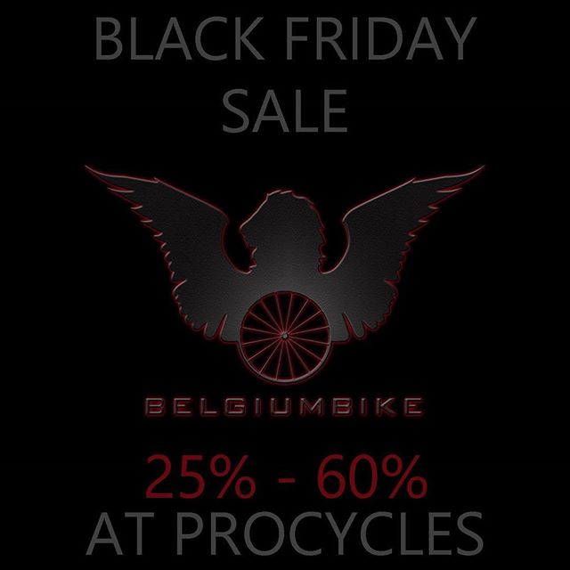 Join us anytime today for some amazing Black Friday discounts on cycling kits, cleaning products, winter gear, and way more for you and your bike. FREE gift for the first 50 people to purchase anything of any value! ・・・ #belgiumbike #belgianVIP #worldchampionship #cycling #bmx #cyclocross #racing #olympicgames2016 #bioracer #morganblue #concap #inflatables #belgiannationalteam #raceteam #europeancycling #Europe #bike #raceoil #energyforwinners #customclothing