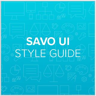 SAVO UI Style Guide