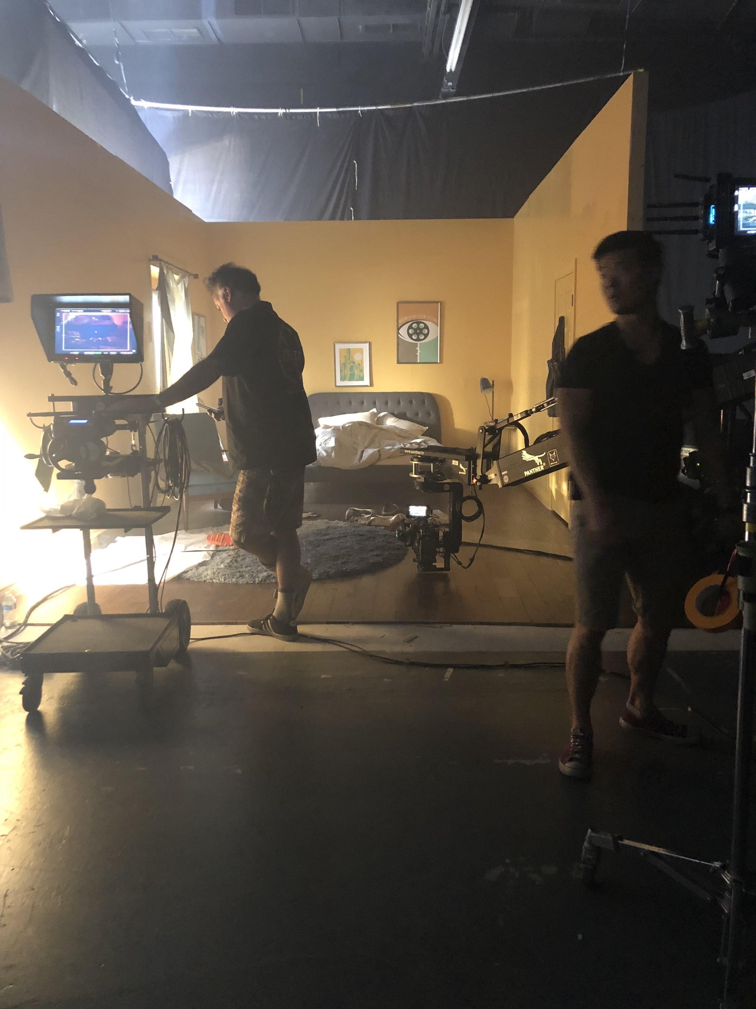 On Set PA Work