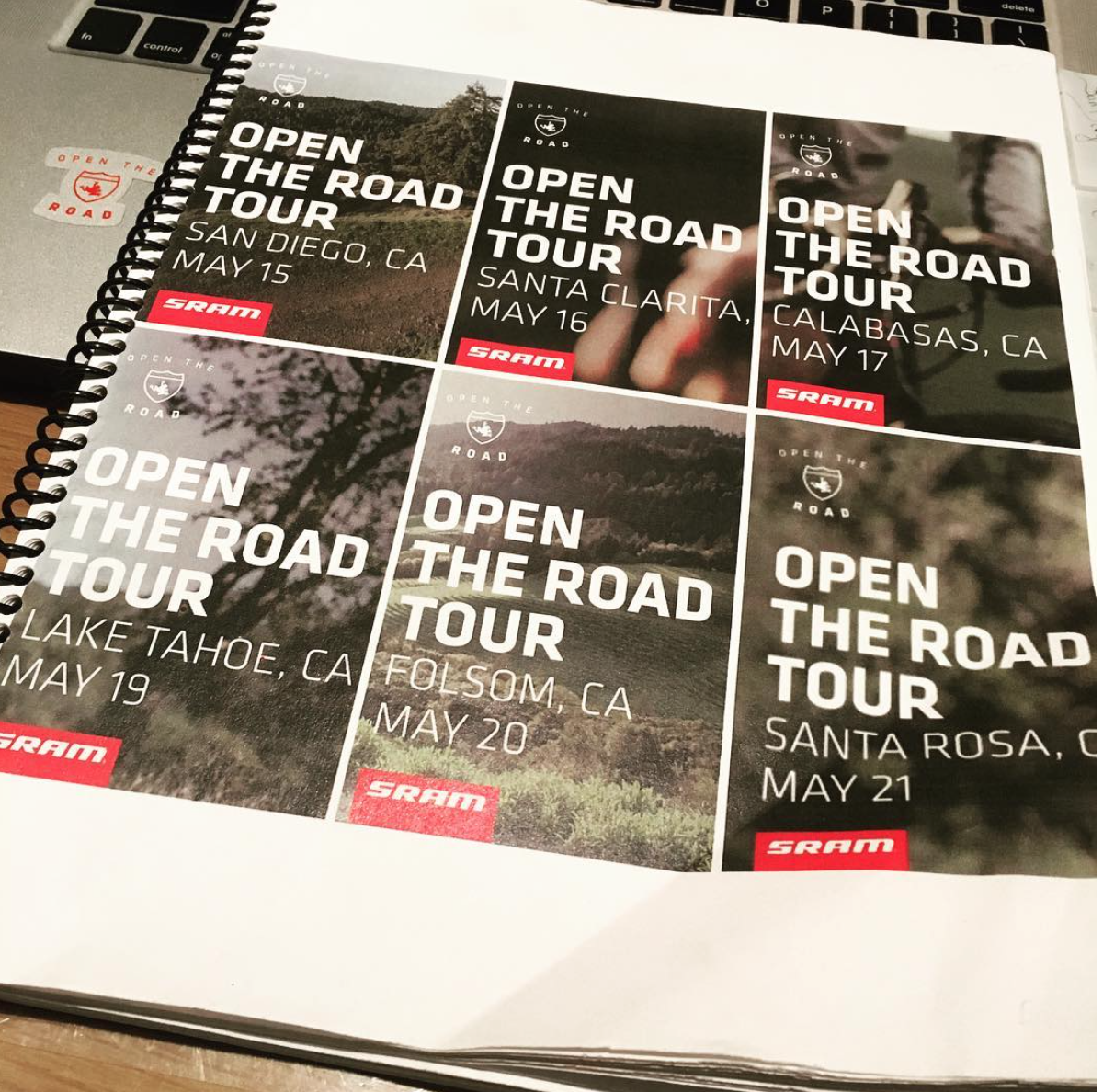 Open The Road at Tour of California Series