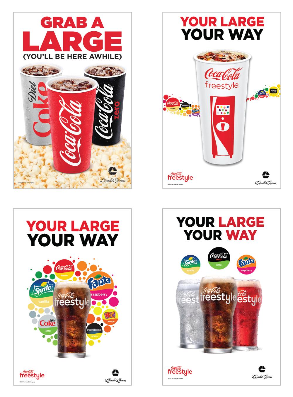 Client: Coca-Cola / Carmike Cinemas