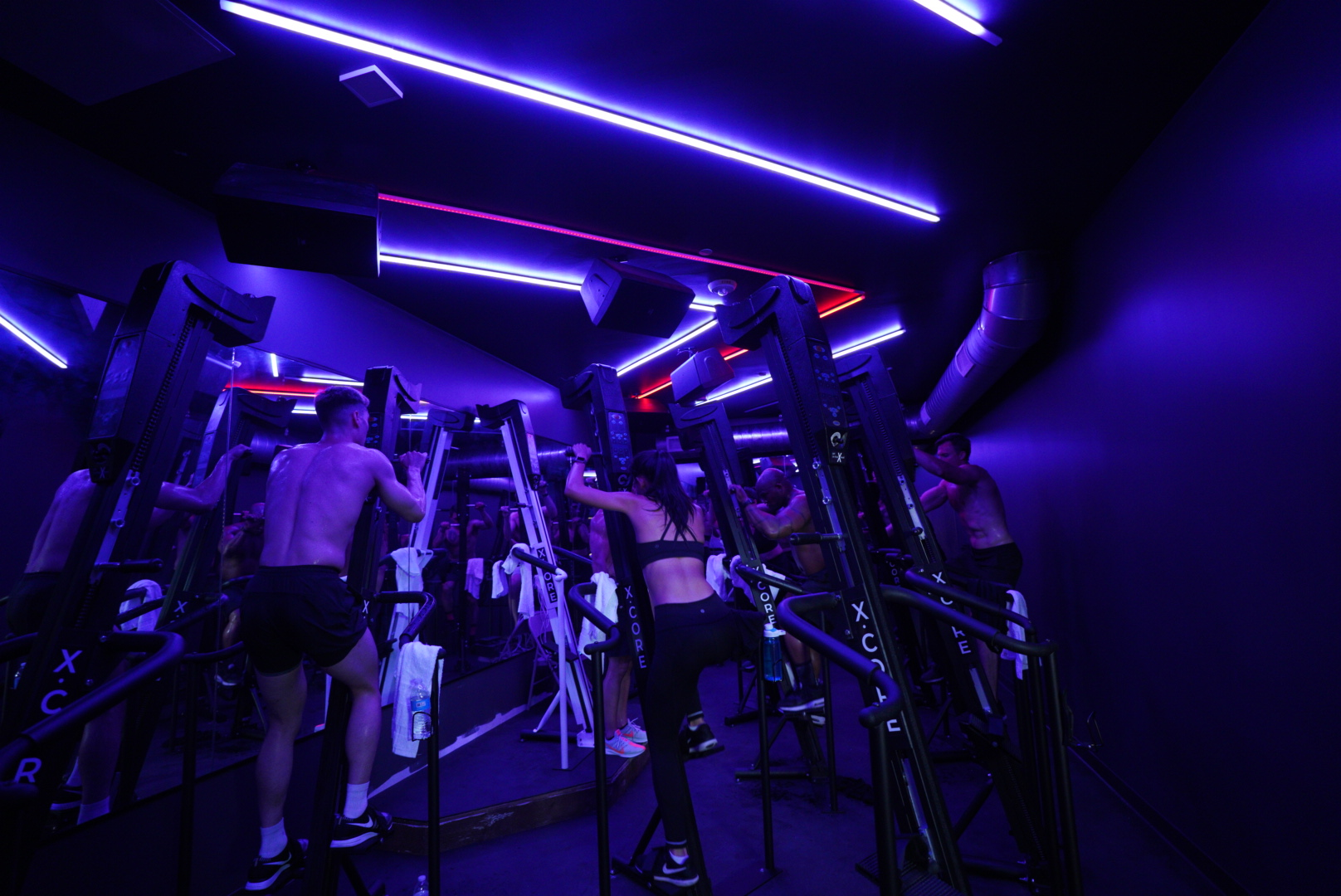 CARDIO - 30 minutes in our beat-based X-CLIMB class will make you sweat and leave you shredded.LEARN MORE