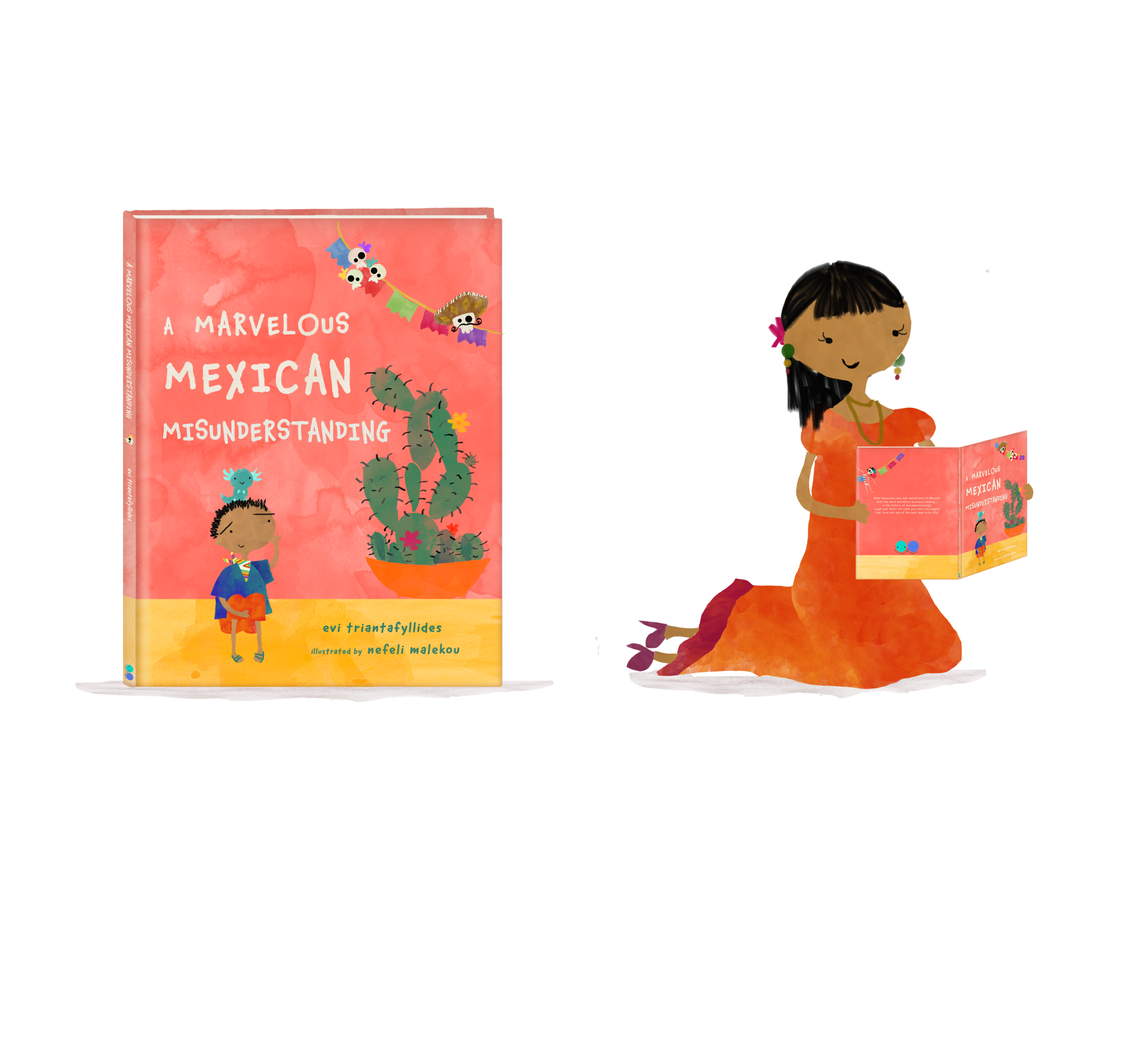 """Mexico's Wonders - Our first book, """"A Marvelous Mexican Misunderstanding"""" is about to come out.Discover Mexico's marvelous wonders and follow Adri while he uncovers the biggest misunderstanding...in the history of misunderstandings!"""