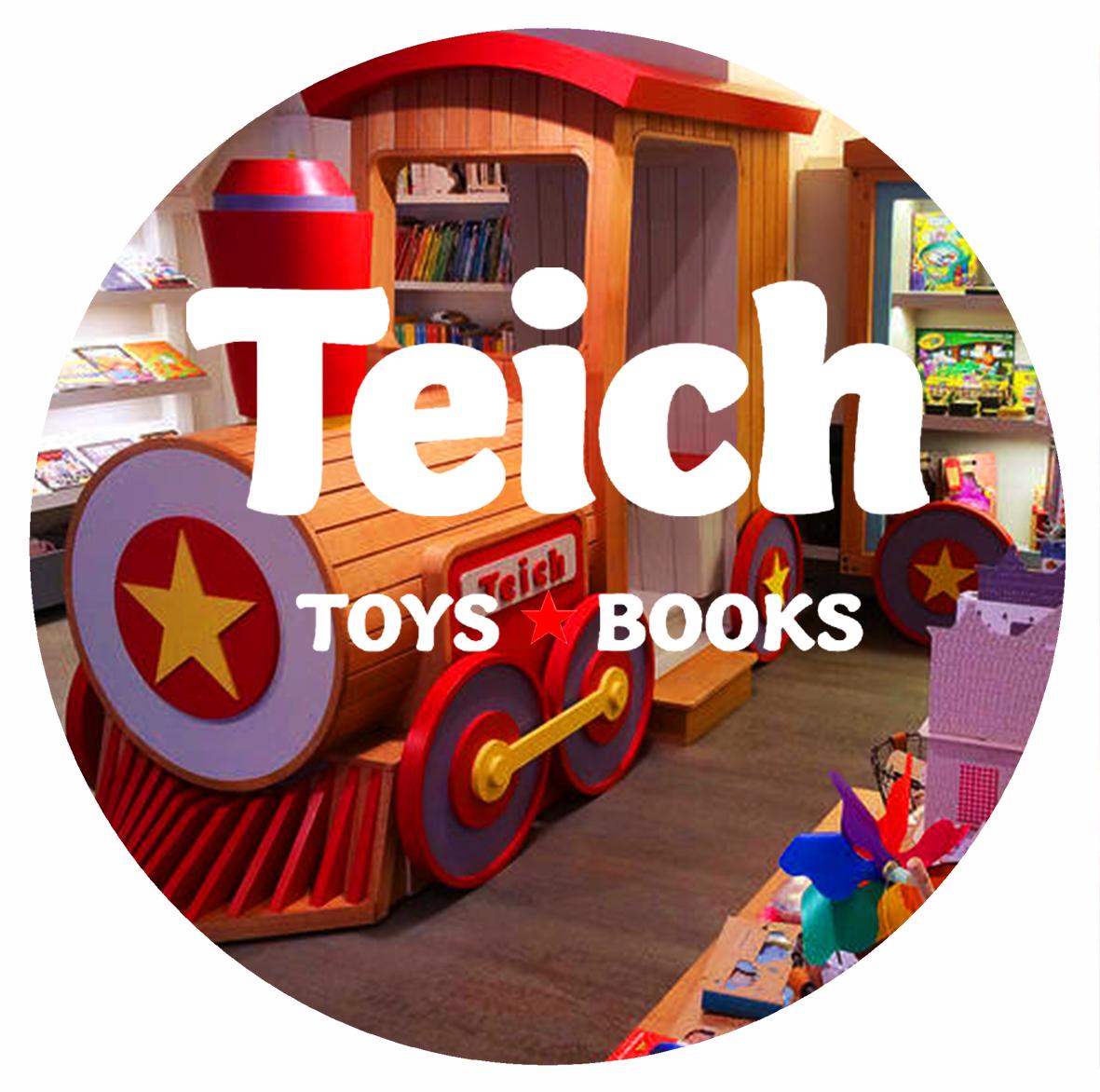 TEICH TOYS & BOOKS 573 Hudson Street, New York, NY 10014