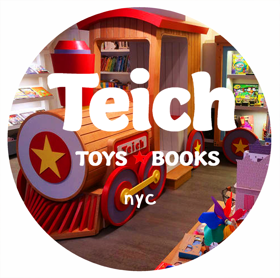 Copy of teich toys & books