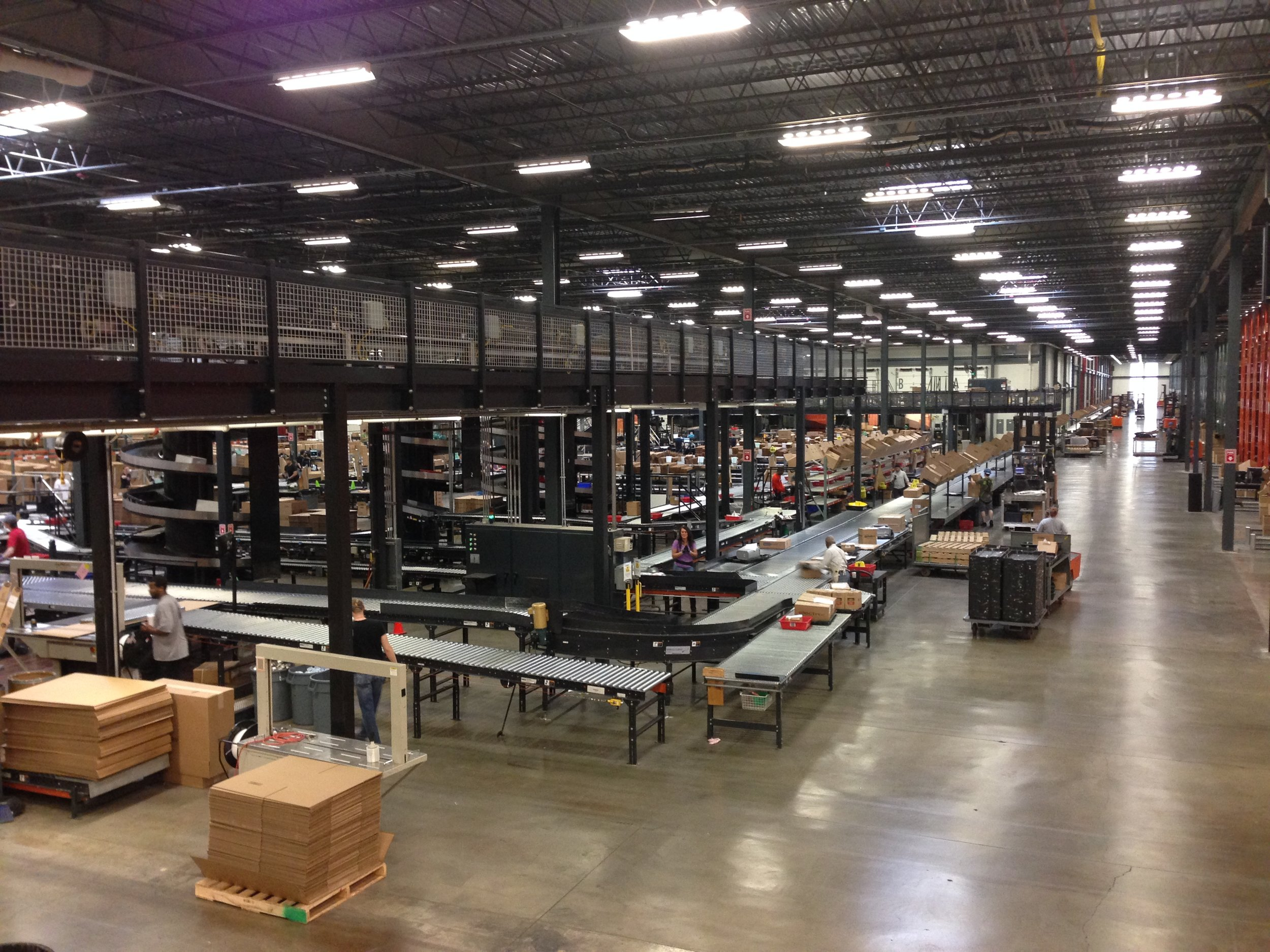Local industrial supply warehouse visit