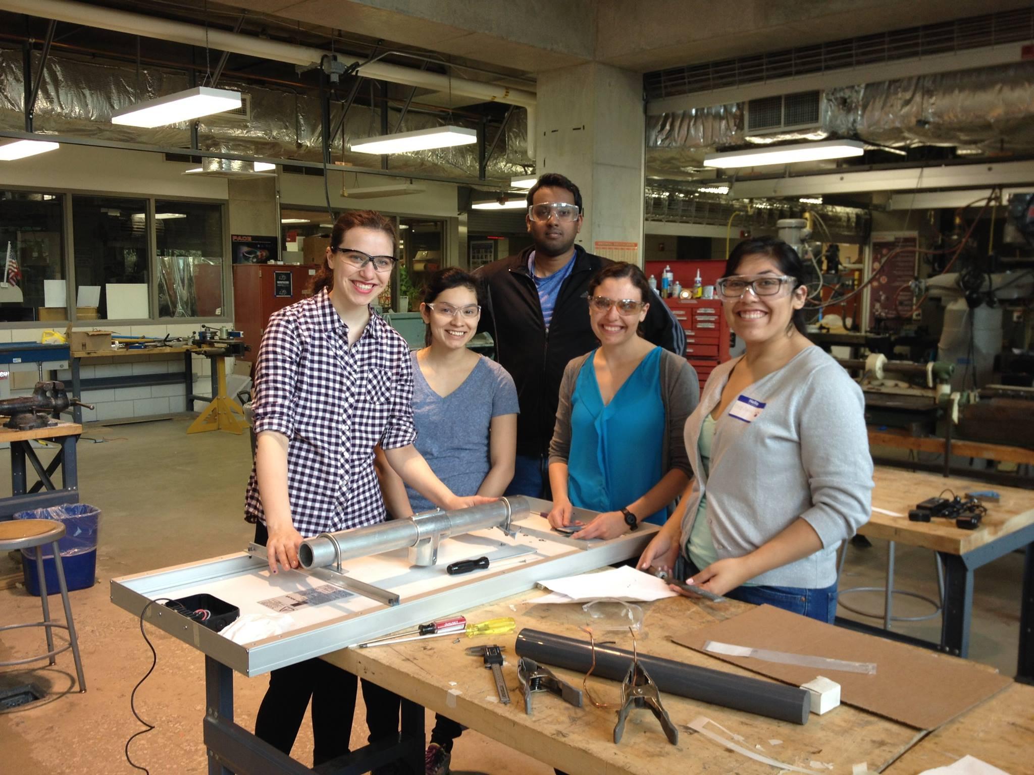 Prototyping a solar panel bracket