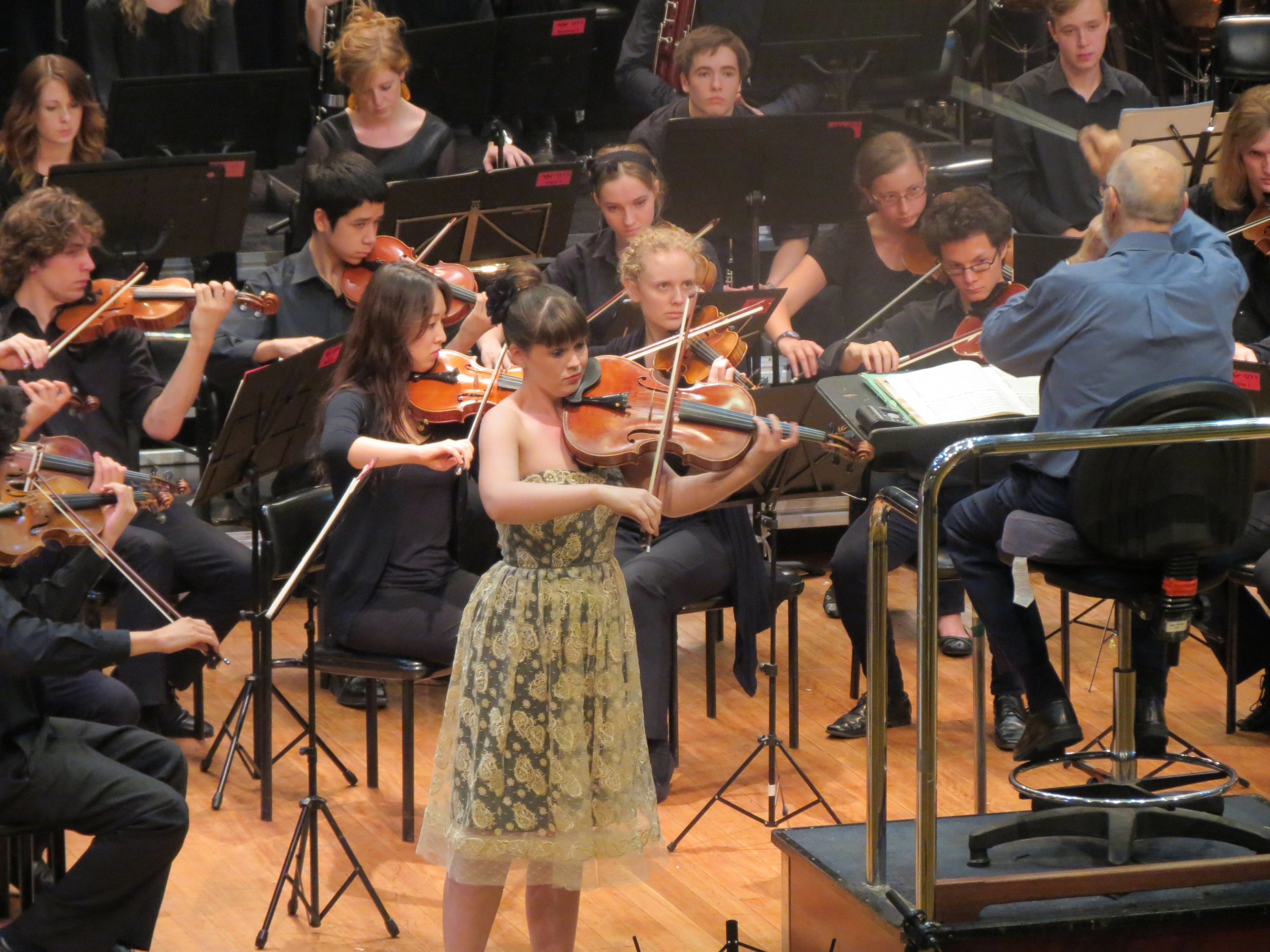 Ellie Performing Max Bruch's beautiful Kol Nidrei with the Queensland Youth Symphony