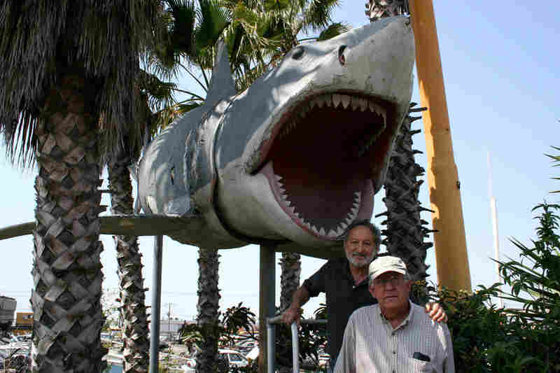 Jaws Production Designer Joe Alves with Junkyard Jaws