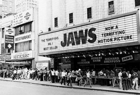 Did you queue to watch JAWS back in '75?