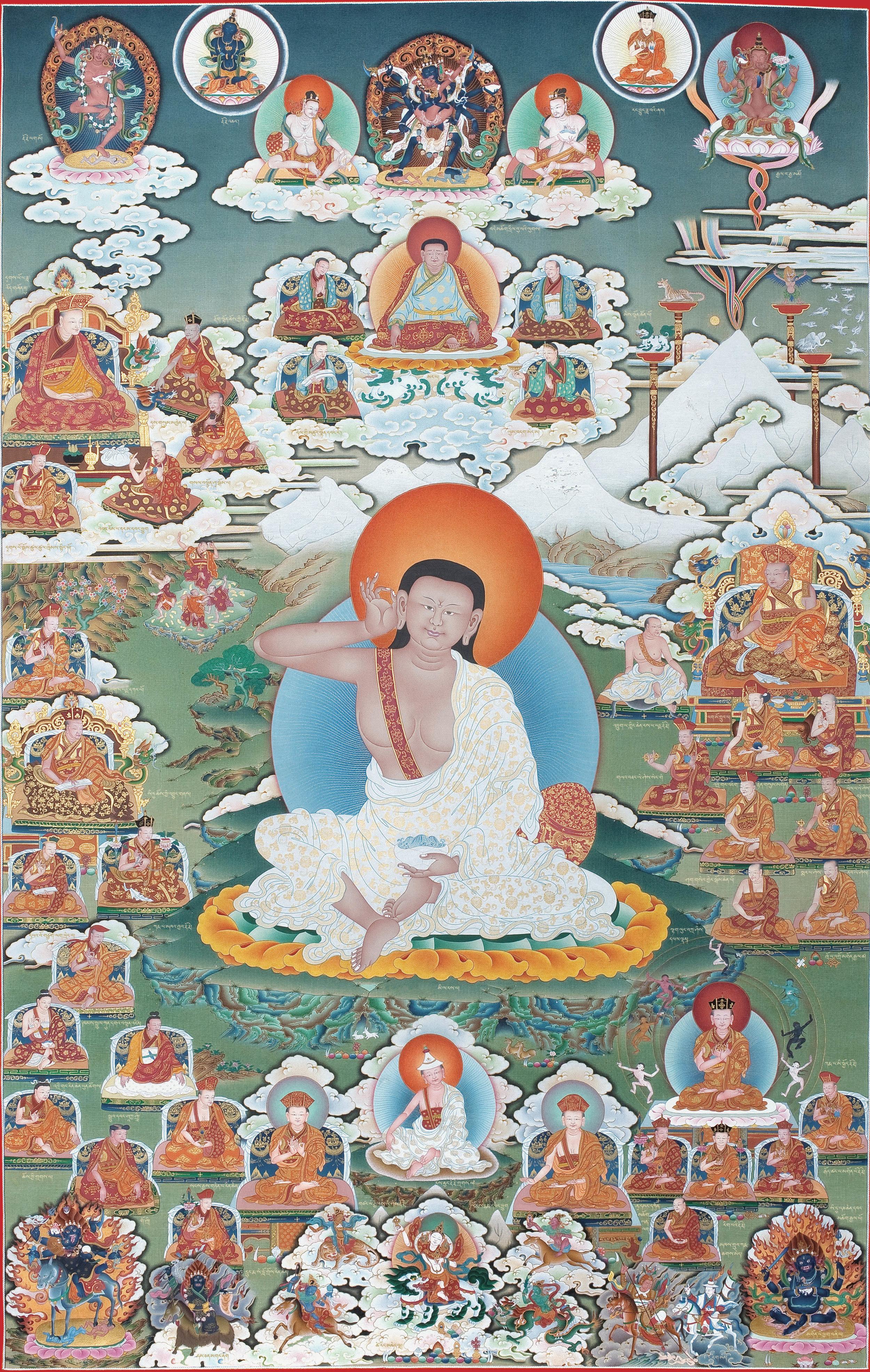 Lineage masters of the Kagyü school of Tibetan Buddhism